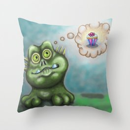 Watcha Thinking? Throw Pillow