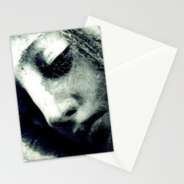 virgin veil of cobwebs Stationery Cards