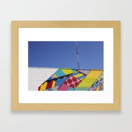 Abstract Broadcast Framed Art Print