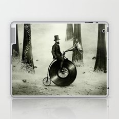 Music Man in the Forest, by Eric Fan and Viviana González Laptop & iPad Skin