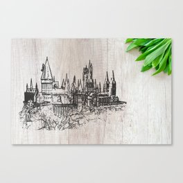 Hogwarts School of Witchcraft and Wizardry Canvas Print