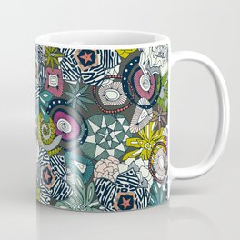 succulents multi dark Coffee Mug