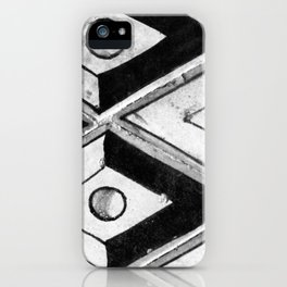 Tiling with pattern 2 iPhone Case