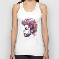 prince Tank Tops featuring Prince by Allison Kunath