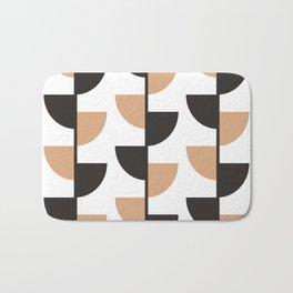 Slices - Caramel and Black Coffee Bath Mat