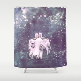 Summer Court Shower Curtain