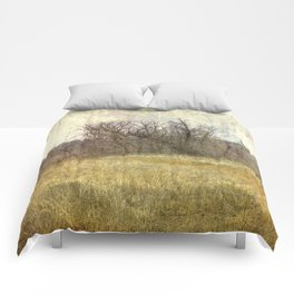 Fall in the Field Comforters