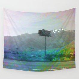 Glitch Trip Wall Tapestry