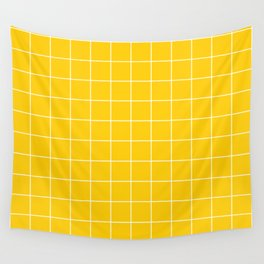 Sunshine Grid Wall Tapestry
