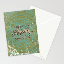 I am the Monster Stationery Cards