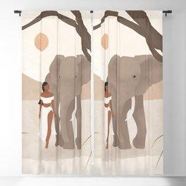 Spirit Animal – Elephant Blackout Curtain