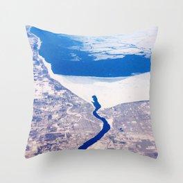 Skagos Sea Throw Pillow