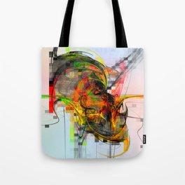 Artist's skull .... Tote Bag