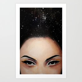 Seeing into Space Art Print