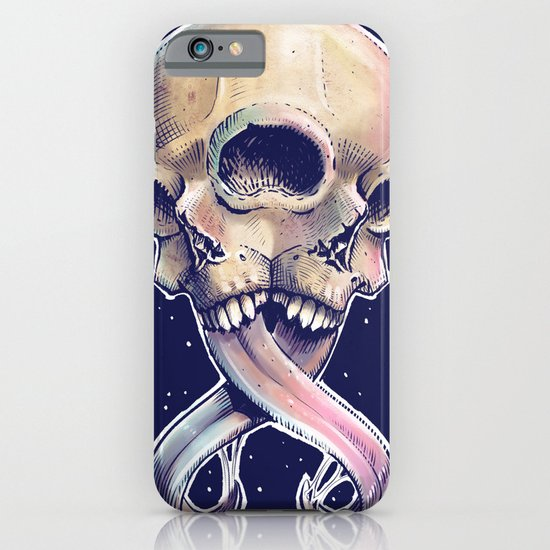Triple eyed skull iPhone & iPod Case