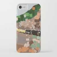 train iPhone & iPod Cases featuring Train by Robert Morris