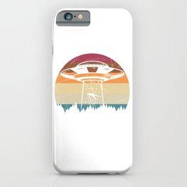 Retro Alien iPhone Case