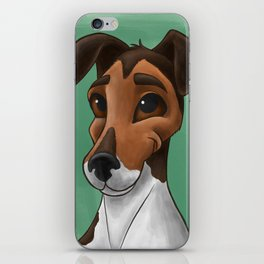 Happy, Sweet Puppy Dog Eyes iPhone Skin