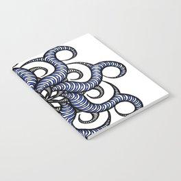 Reverse in blue Notebook