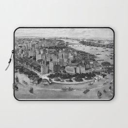 Vintage New York 1903 Laptop Sleeve