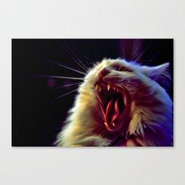 CAT !!! Canvas Print
