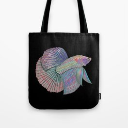 A Beautiful Betta Fish Tote Bag