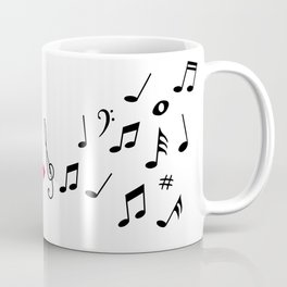 Musical pulse Coffee Mug
