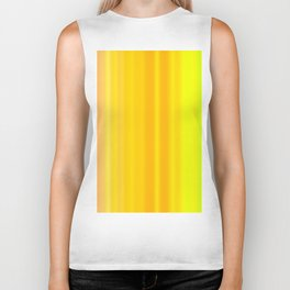 Yellow line background with vertical movement Biker Tank