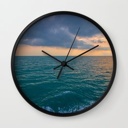 Glowing Horizon Wall Clock