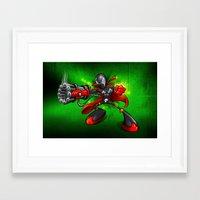 spawn Framed Art Prints featuring Spawn  by alexviveros.net