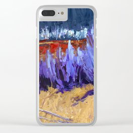 Winter Imagined Clear iPhone Case