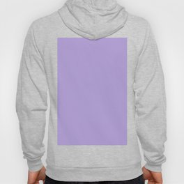 Light Chalky Pastel Purple Solid Color Hoody
