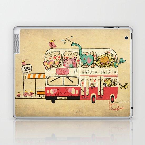The Childhood Bus Laptop & iPad Skin