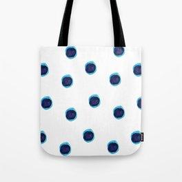Happy Blues Tote Bag