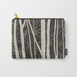 Forest Faces  Carry-All Pouch