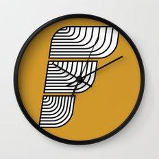 F like F Wall Clock