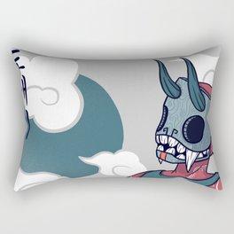 Floating On Rectangular Pillow