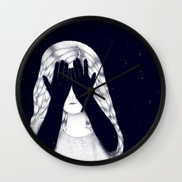 Neither Day Nor Night Wall Clock