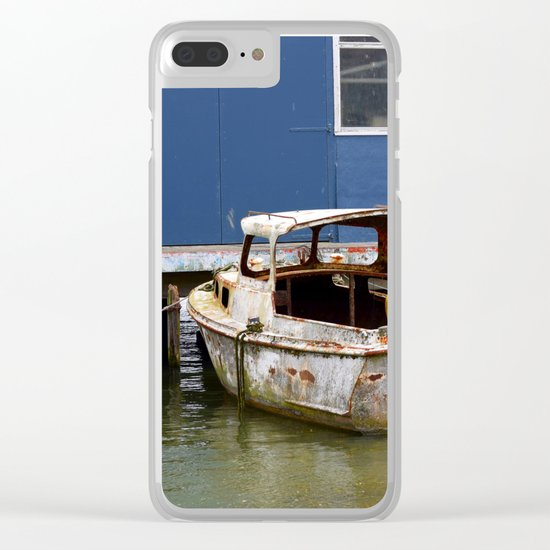 Still afloat Clear iPhone Case
