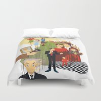 twin peaks Duvet Covers featuring Twin Peaks by Collectif PinUp!