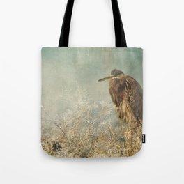 North Carolina Heron Tote Bag