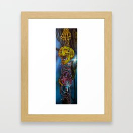 Steampunk Skull Framed Art Print
