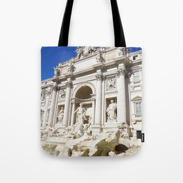 Make a Wish: Trevi Fountain in Rome, Italy Tote Bag