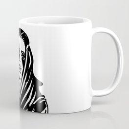 Woman with a tattoo Coffee Mug