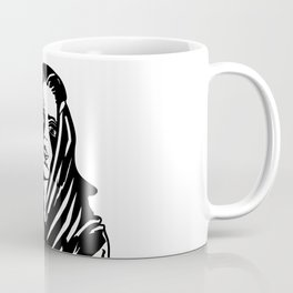 Woman with a tattoo Coffee Mug