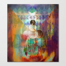 Shakti - Mystic Roots Canvas Print