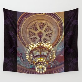 Victorian Painted Ceiling Wall Tapestry