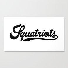 Squatriots Canvas Print