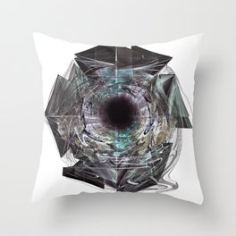 Geminate_Omega Throw Pillow