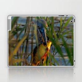 BLUE HERON'S FRIDAY SUNDOWN FISH FEAST Laptop & iPad Skin